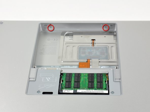 "MacBook Pro 15"" Core 2 Duo Models A1226 and A1260 Upper Case Replacement"