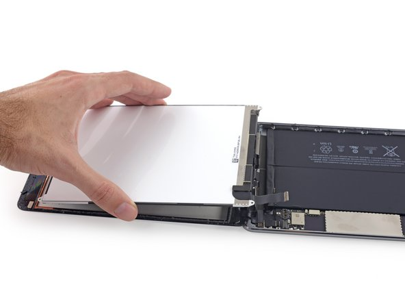 Lift and remove the LCD from the iPad Mini 3.