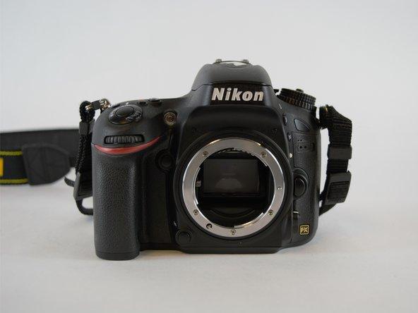 Nikon D610 Outer Case Replacement