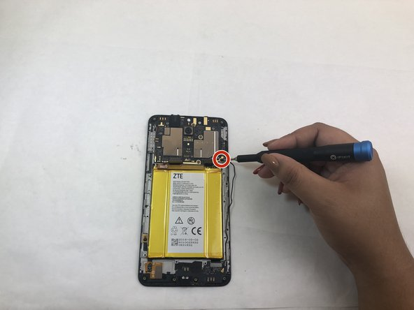 ZTE Blade X Max Motherboard Replacement