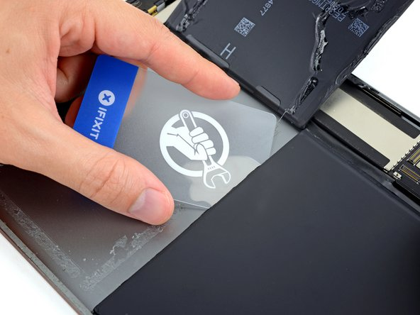 Repeat the above procedure to separate the second, lower battery cell from the rear case.