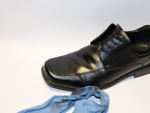 Apply another coat of shoe polish as needed. If you are finished, continue ahead.