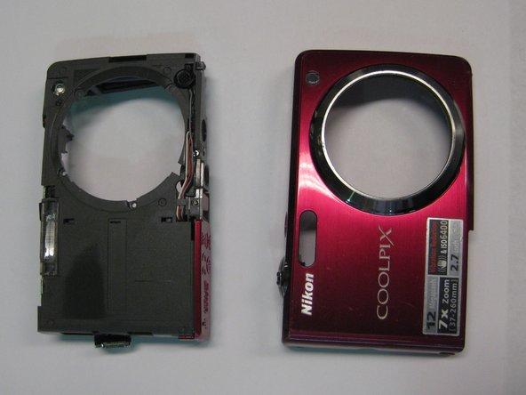 Remplacement du boitier avant du Nikon Coolpix S630