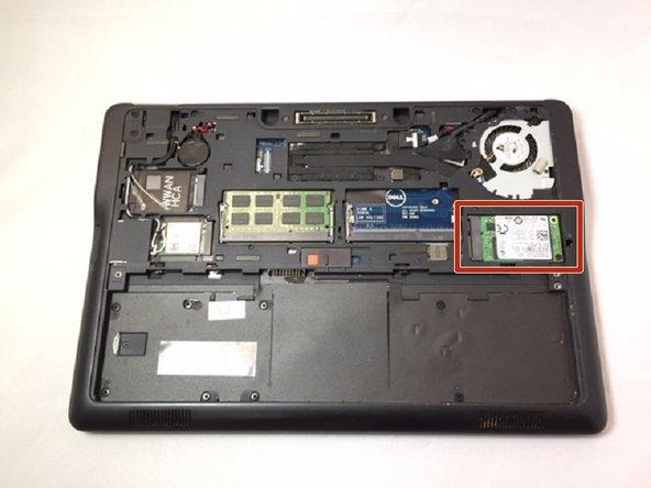 Dell Latitude E7250 SSD Replacement