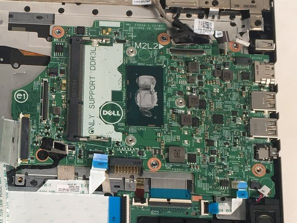 Dell Inspiron 13-7353 Motherboard Replacement