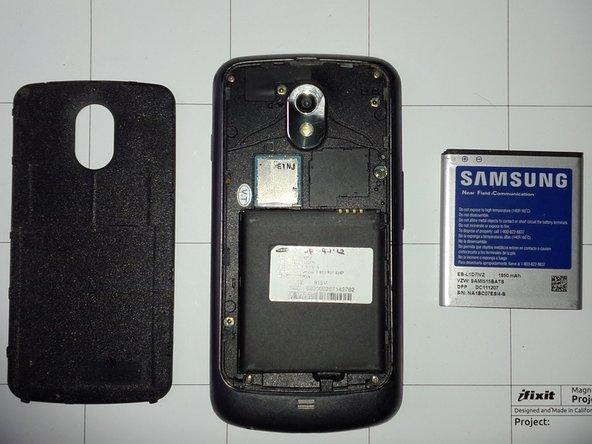 Samsung Galaxy Nexus Main Display Glass Replacement