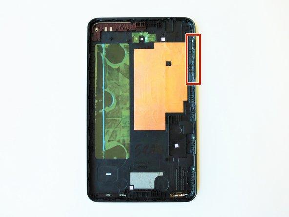 Samsung Galaxy Tab 4 8.0 Verizon Power/Lock and Volume Button Replacement