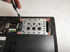 Asus K55N-DS81 Hard Drive Replacement