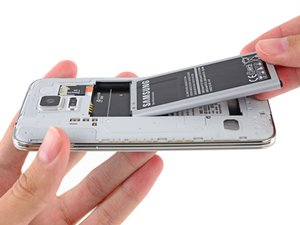 Samsung Galaxy S5 Vervanging van de batterij