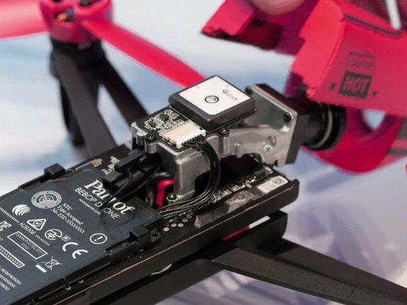 Parrot Bebop Drone Upper Parts Replacement