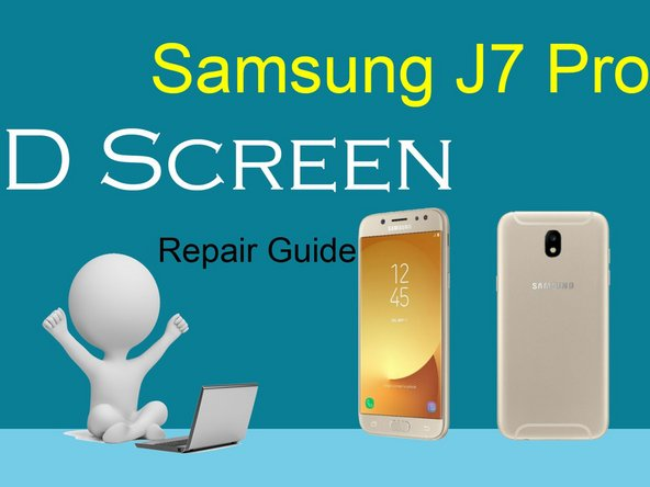 Samsung J7 Pro LCD Display Replacement