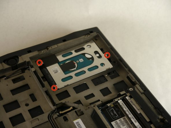 Alienware M14xR2 Hard Drive Replacement