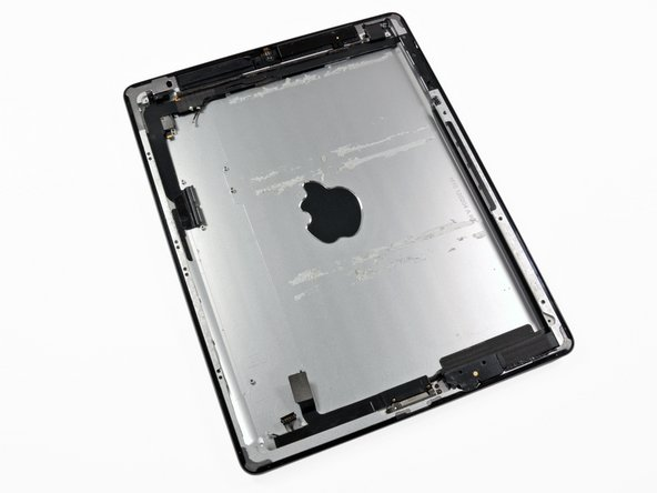 As we progress through the teardown, what remains is just the carcass of a once mighty iPad.