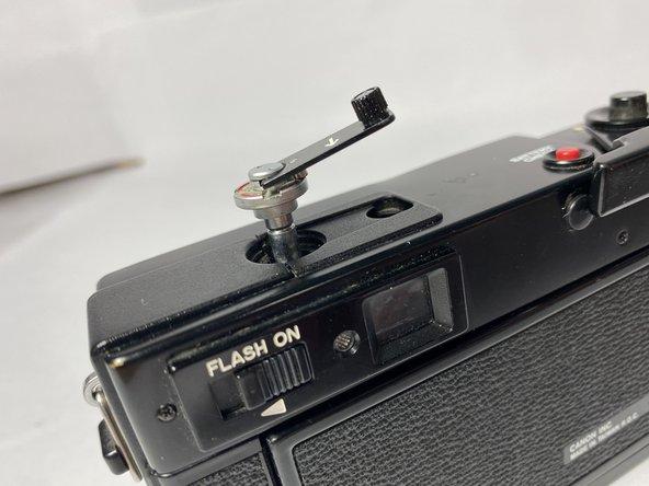 Canon A35F Film Rewind Crank Replacement