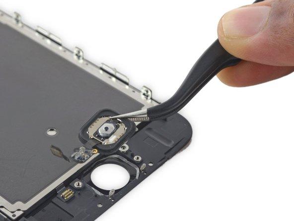 Substituição do conjunto do botão home do iPhone 6s