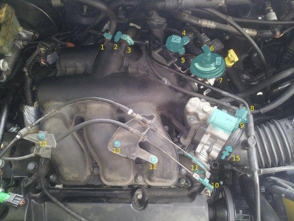 Mazda Tribute (2002 & Similar) Upper Intake Manifold Replacement
