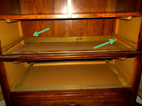 Dresser Drawer Guide Tracks Replacement