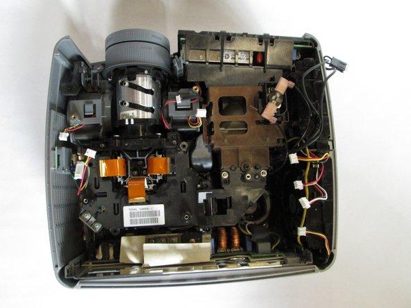 InFocus LP540 Projector Main Fans Replacement