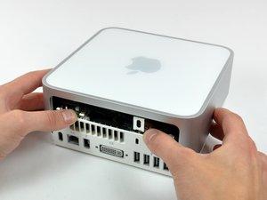 Installation du boîtier supérieur du Mac mini modèle A1176