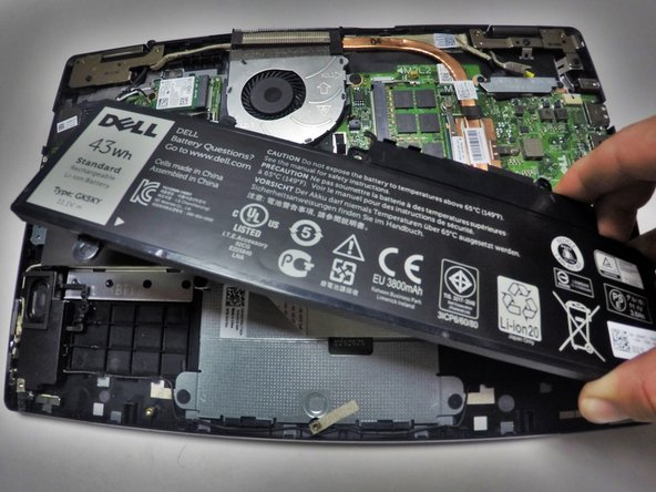Dell Inspiron 13-7352 Battery Replacement