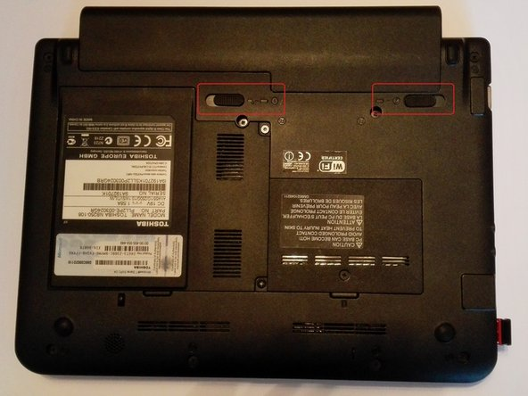 Toshiba NB250-108 Battery Replacement