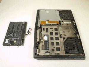 Reemplazo de batería Alienware M14xR2