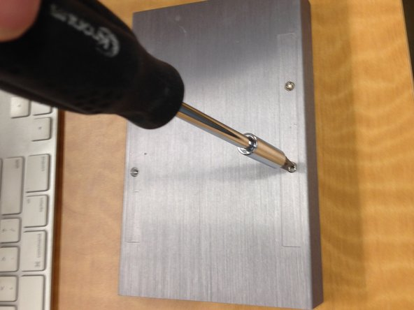 Remove the two sets of phillips screws and set them aside.