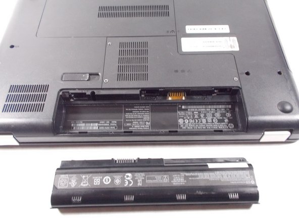 HP G62-340US Battery Replacement