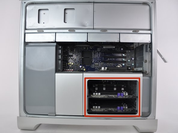Mac Pro First Generation RAM Replacement