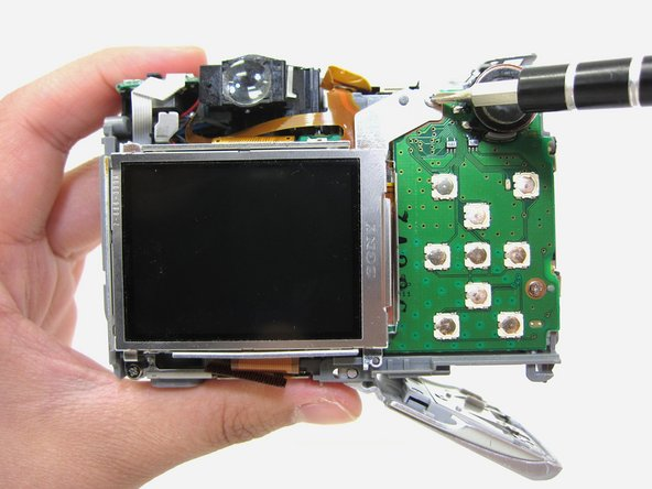 Canon PowerShot A550 LCD Screen Replacement