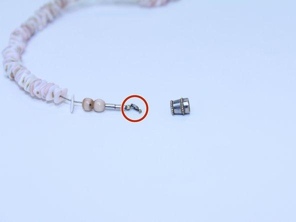 Necklace Barrel Clasp Repair