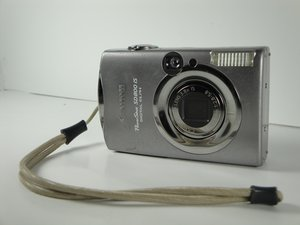 Reparo de Canon PowerShot SD800 IS
