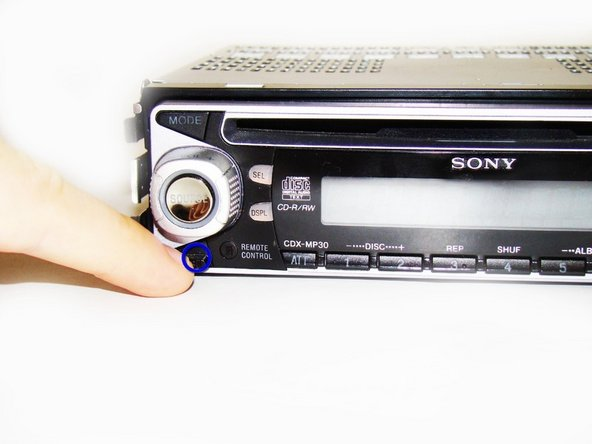 Sony Xplod CDX-MP30 Front Panel Replacement