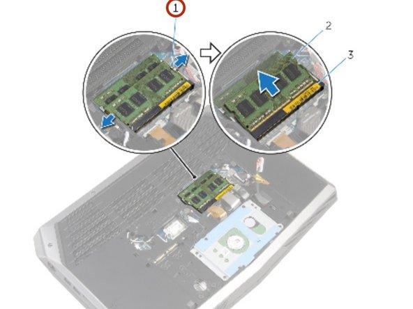 Dell Alienware 15 Memory Module Replacement