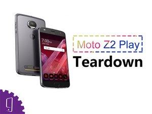 Moto Z2 Play Disassembly