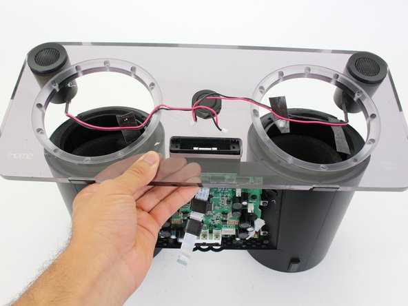 iHome iP1 Faceplate and Tweeters Replacement
