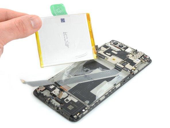 OnePlus 5T Vervanging van de batterij