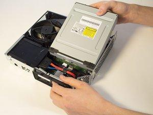 Remplacement du lecteur CD du Xbox 360 E