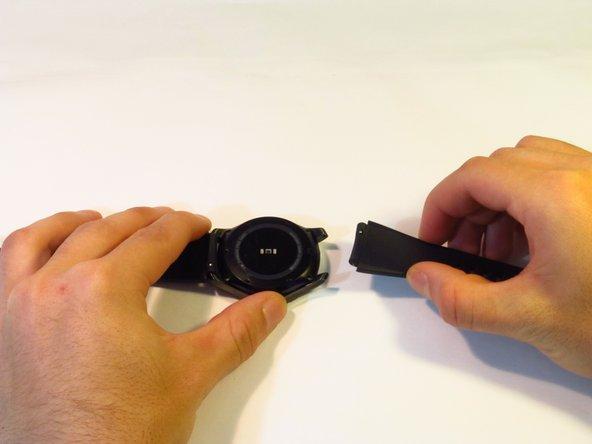 Cambio de correa para un Samsung Gear S3 Frontier