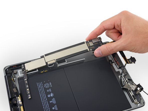 iPad 5 LTE Logic Board Replacement