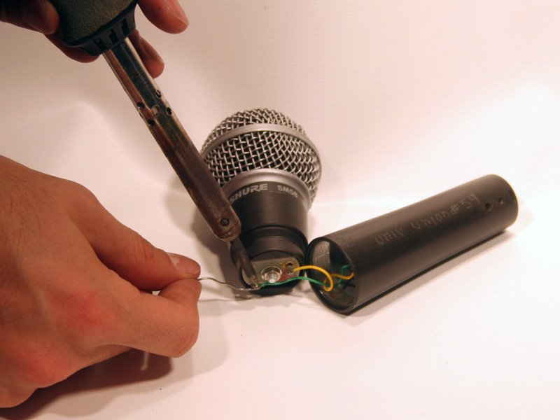 how to shure sm58 - ifixit repair guide  ifixit