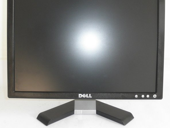 1. remove plinth from monitor by pressing the button on the back of the screen
