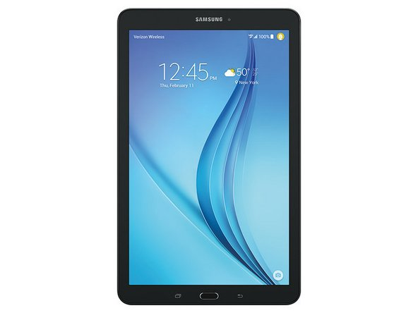 Samsung Galaxy Tab E 9.6 Wi-Fi Touchscreen und LCD Replacement