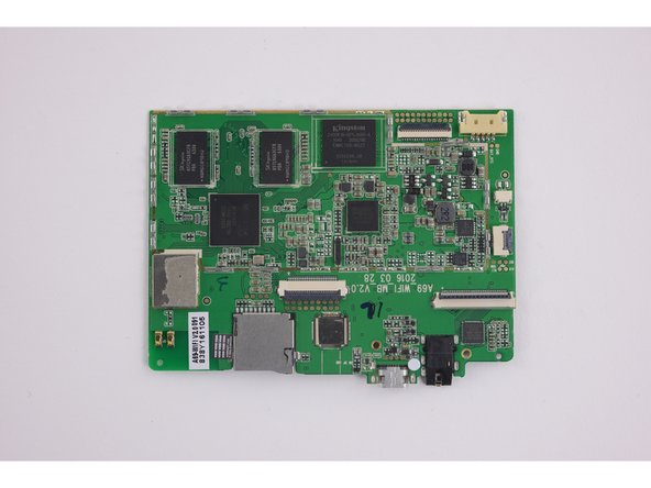 Motherboard reference photos.