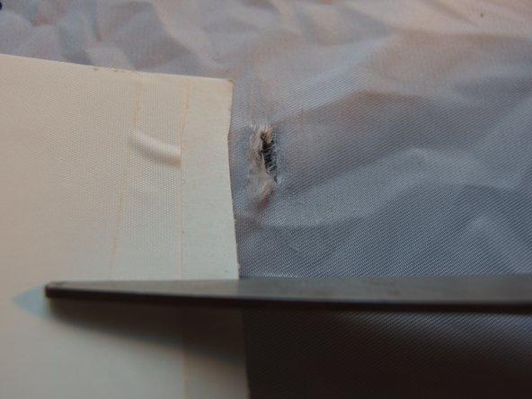 How to Repair a Small Tear in a Sail