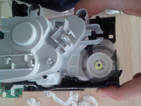 remove the plastic rotors.