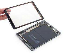 Remplacement du panneau frontal complet de l'iPad 5 Wi-Fi