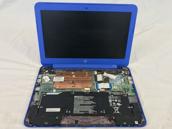 HP Stream 13-c010nr Disassembly