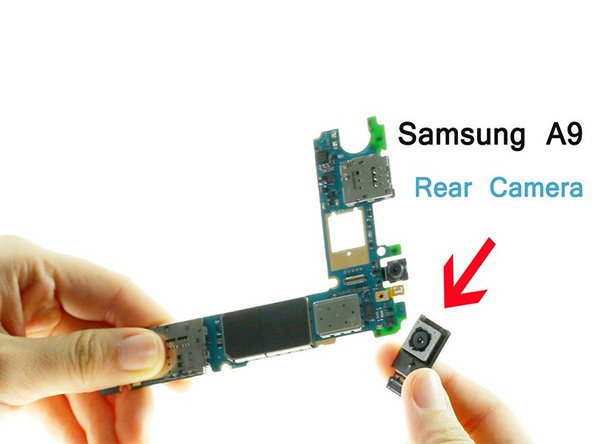 Samsung Galaxy A9(2016) Rear Camera Replacement