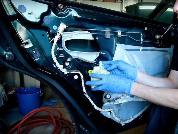 1998-2002 Honda Accord Rear Door Lock Actuator Replacement